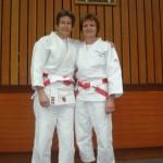 Astrid et Irène - 6ème Dan Judo.