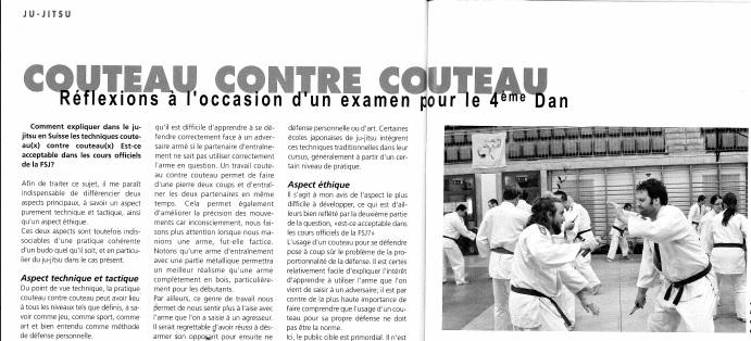 (c) 2014 revue DOJO - Fédération Suisse de Judo et Ju-Jitsu