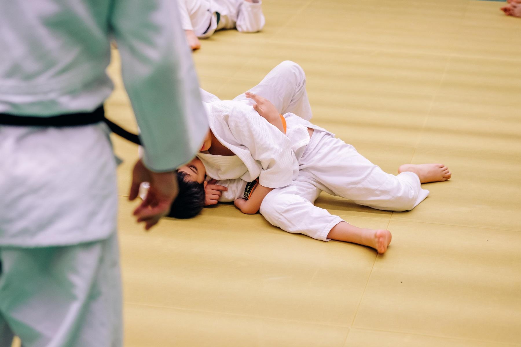 Initiation Judo au Mont-sur-Lausanne