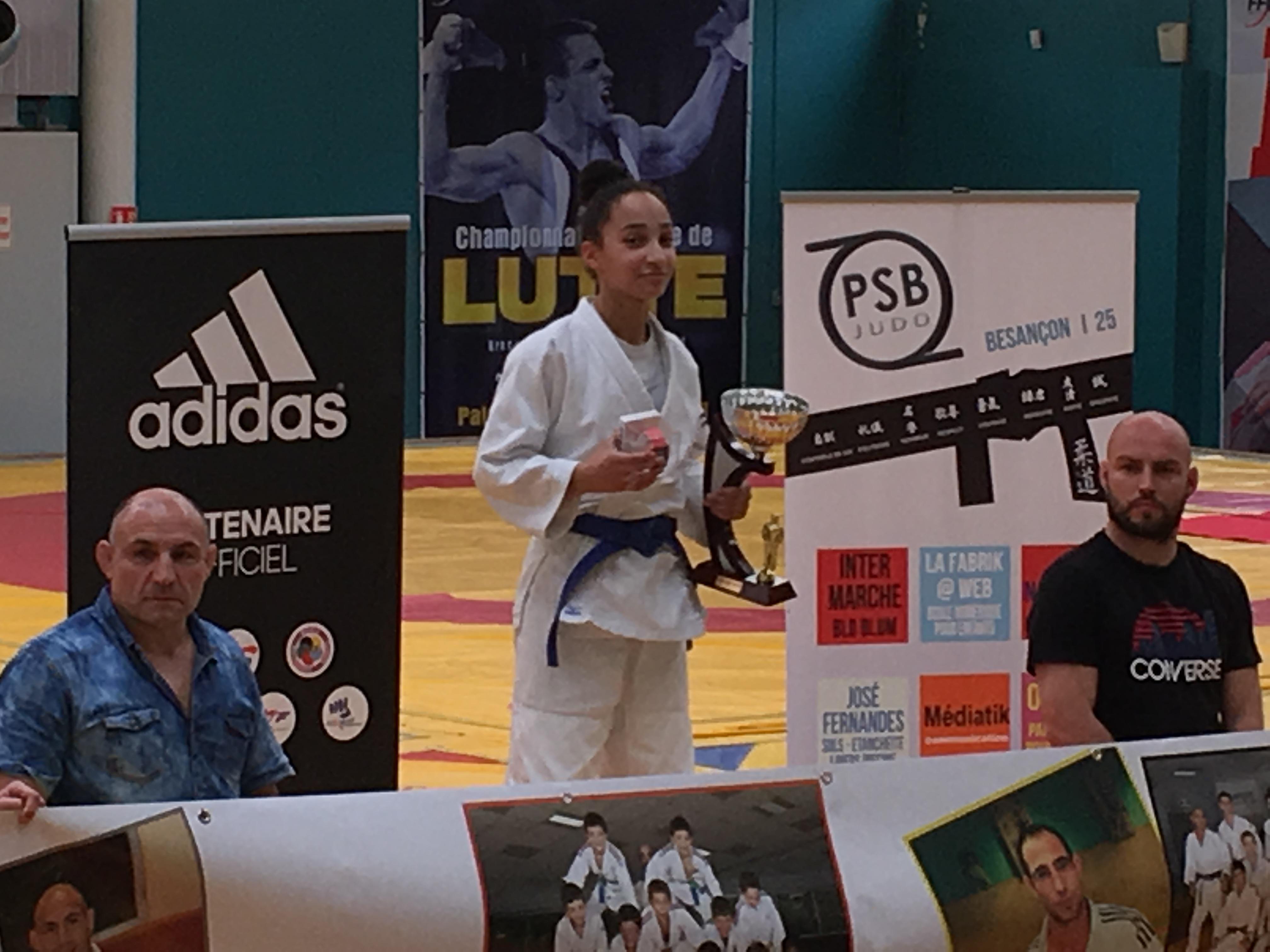 Résultats de l'Open Adidas de Judo à Besançon