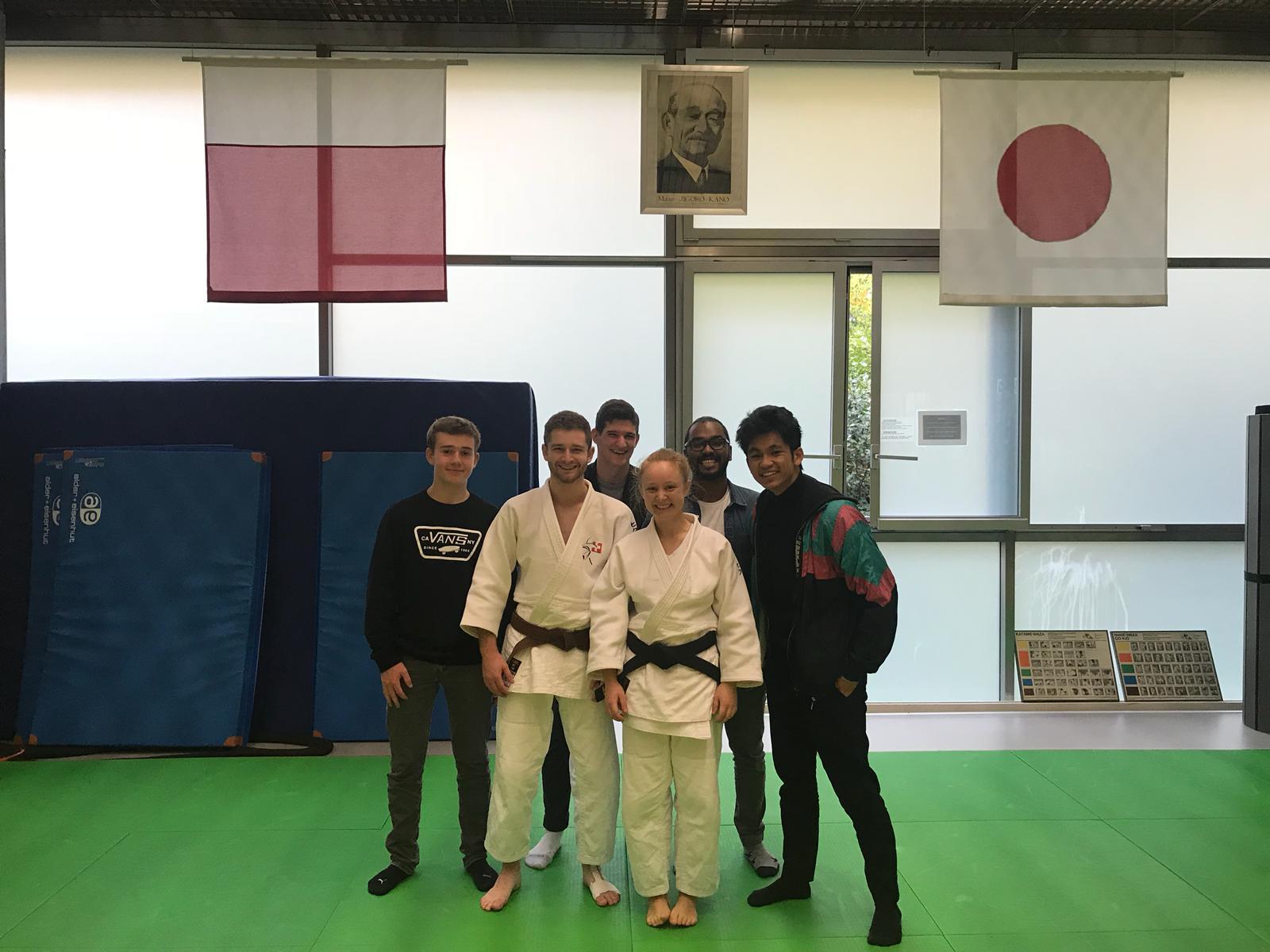 Nouvelle 1er DAN Judo
