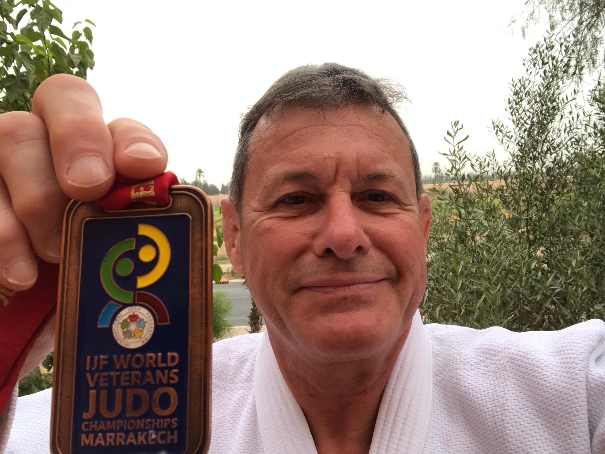 Marcel, 3ème aux championnats du monde vétéran
