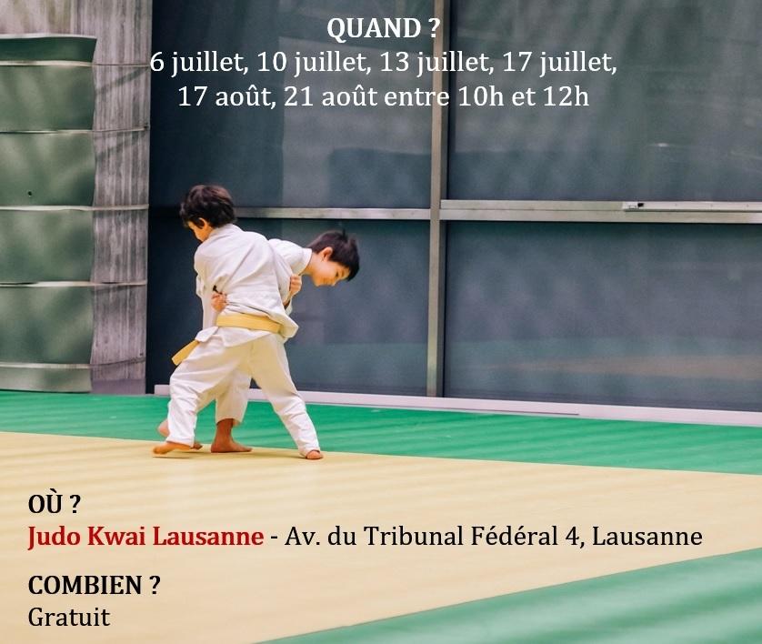 Entrainement découverte judo dès 5 ans