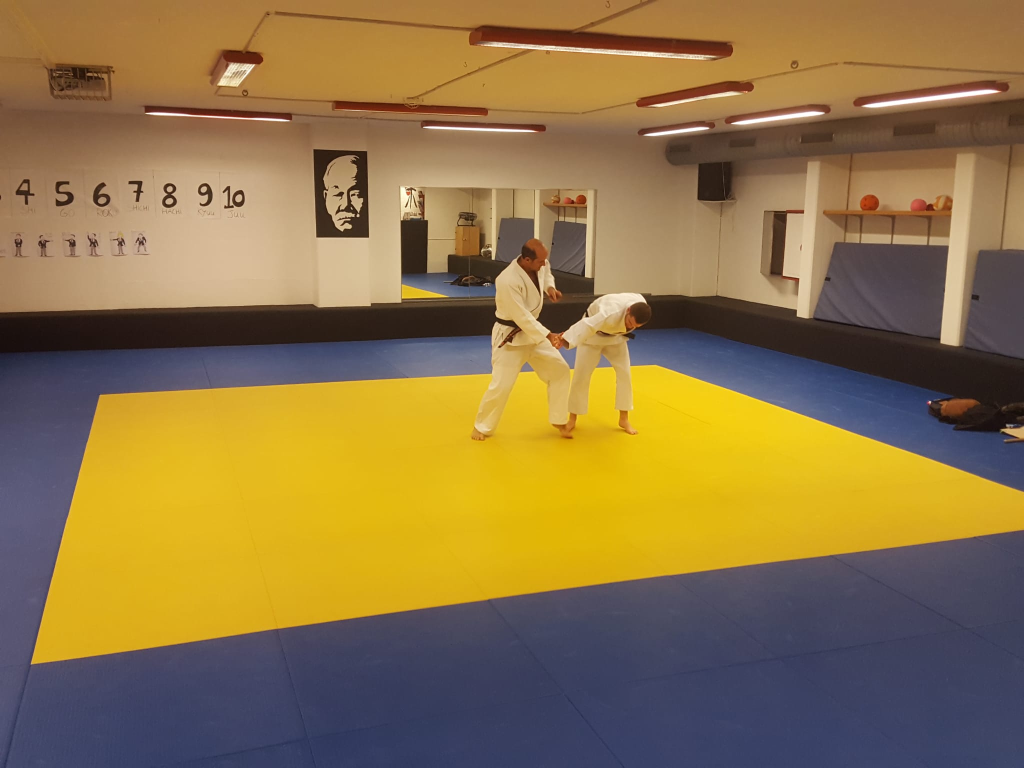 2e dan de Ju-Jitsu pour Antoine et Pierre-Alain