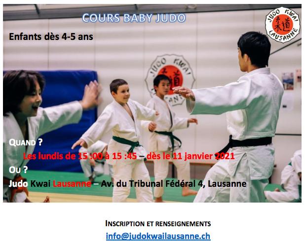 Baby judo dès 4-5 ans