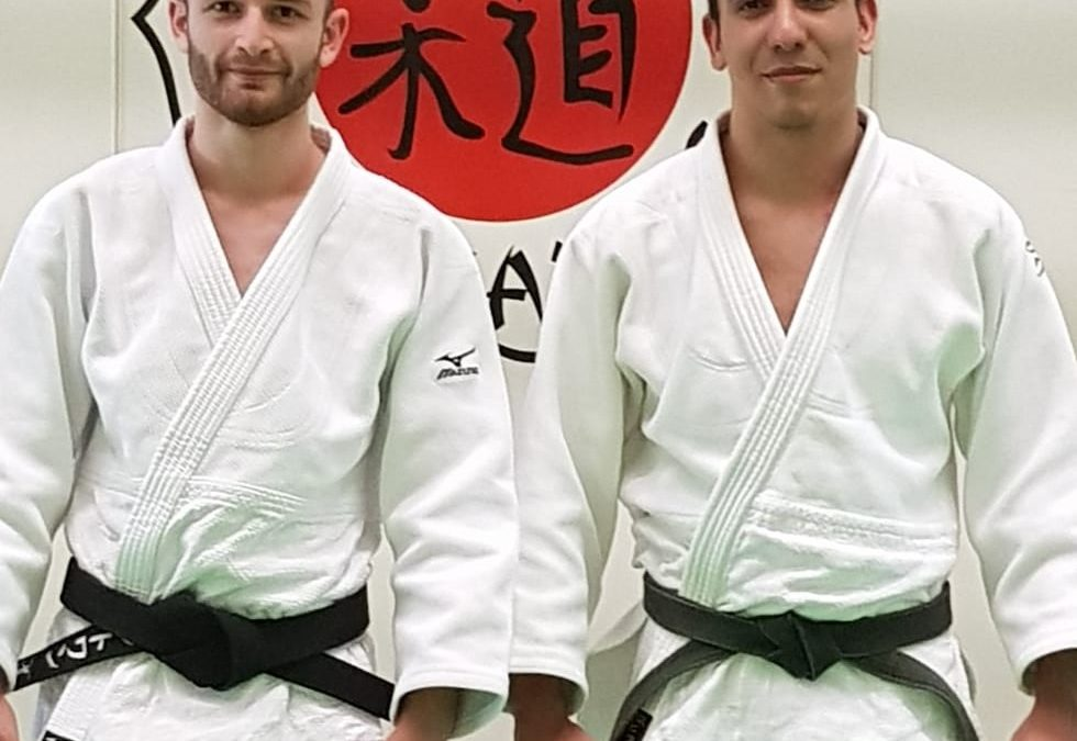 1er dan de Judo pour Antoine